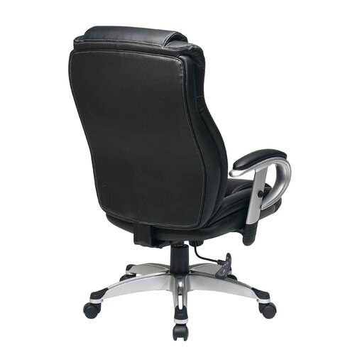 Office Star Products Eco Leather Executive Office Chair