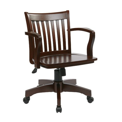 Office Star Products Deluxe Bankers Chair II