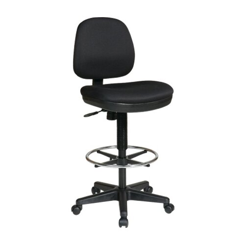 Office Star Products Height Adjustable Drafting Chair with Lumbar Support