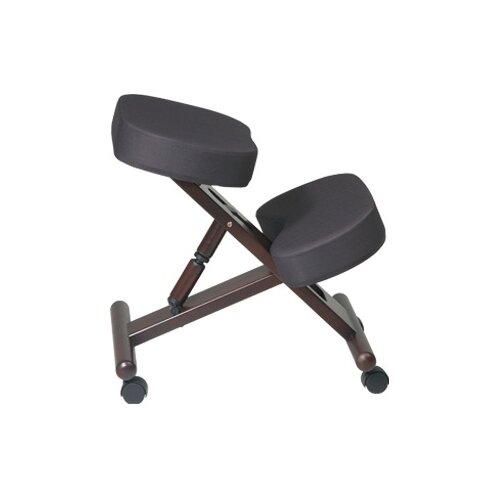 Office Star Products Ergonomic Knee Chair with Memory Foam