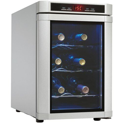 Maitre'D 6 Bottle Single Zone Thermoelectric Wine Refrigerator