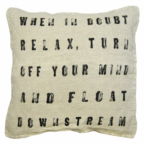 Sugarboo Designs When in Doubt Pillow