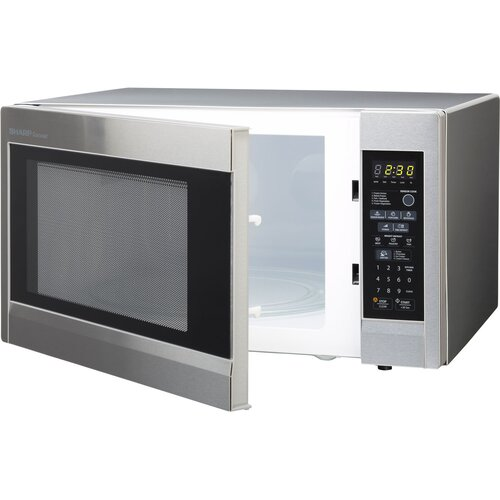 Countertop Microwave Sharp : Sharp 1.8 Cu. Ft. 1100W Carousel Countertop Microwave & Reviews ...