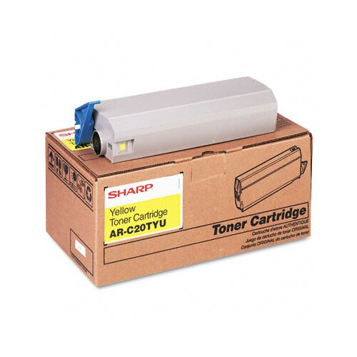 ARC20TYU OEM Toner Cartridge, 10,000 Page Yield, Yellow