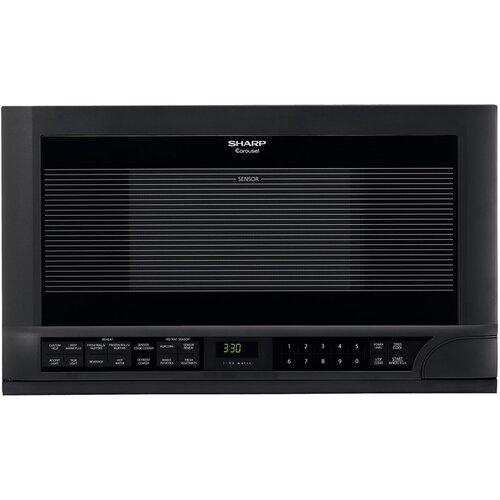 1.5 Cu. Ft. 1100W Cabinet-Mount Microwave