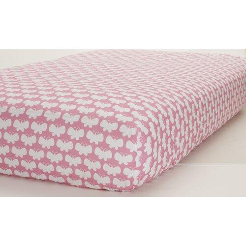 Just Born® Butterflies Crib Sheet