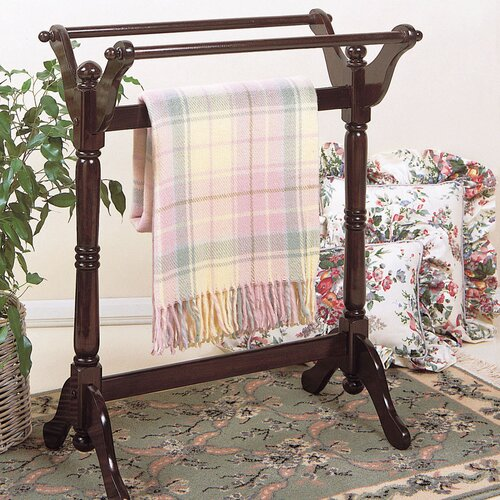Powell Furniture Heirloom Cherry Quilt Rack
