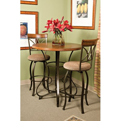 Powell Furniture Pewter Pub Table