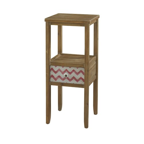 Squiggly Dee End Accent Table