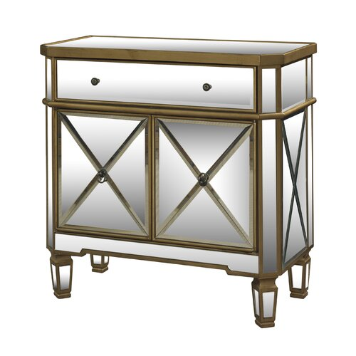1 Drawer Mirrored Console