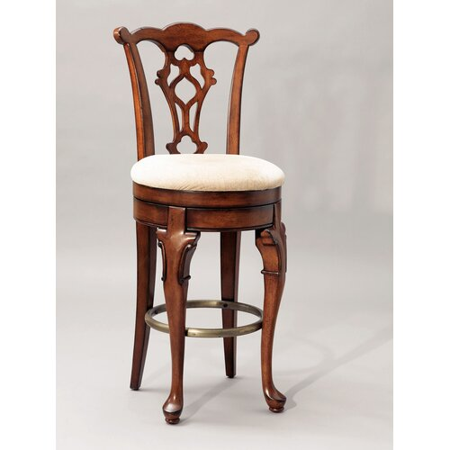 "Powell Furniture Jamestown Landing 30.75"" Swivel Bar Stool"
