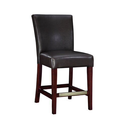"Powell Furniture Cafe 24"" Bonded Leather Counter Stool"