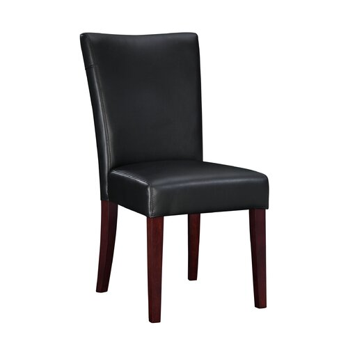 Black Leather Kitchen Chairs: Leather / Faux Leather Kitchen & Dining Chairs