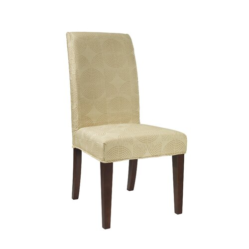 Powell Circle Parson Chair Slipcover & Reviews  Wayfair