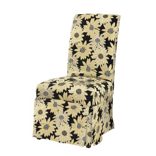 Powell Furniture Parson Chair Skirted Slipcover
