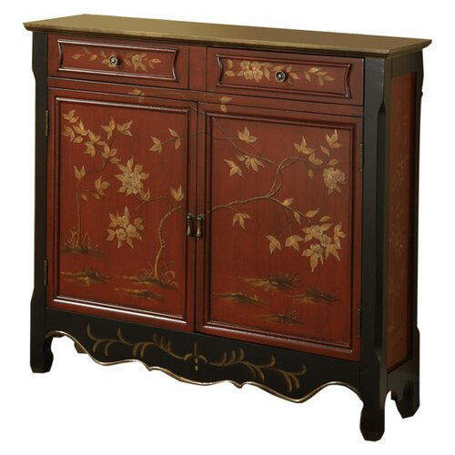 Powell Furniture 2 Door 2 Drawer Console
