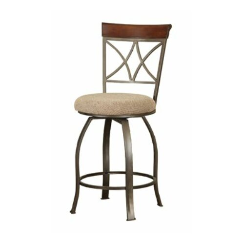 Powell Cafe Swivel Bar Stool