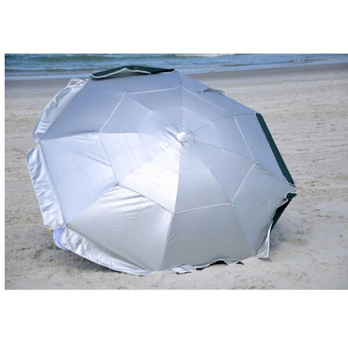 Solar Guard 6' Dual Canopy Beach Umbrella