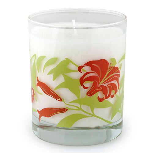 Crash Zuz Design Tiger Lily Candle