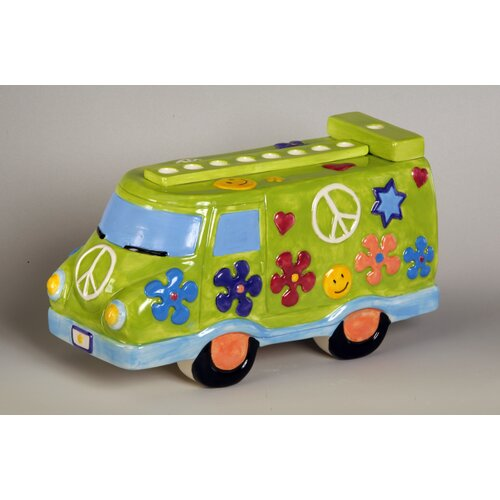 Israel Giftware Design Ceramic Peace Van Menorah