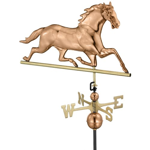 Good Directions Horse Weathervane