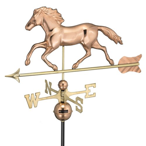 Good Directions Smithsonian Running Horse Weathervane