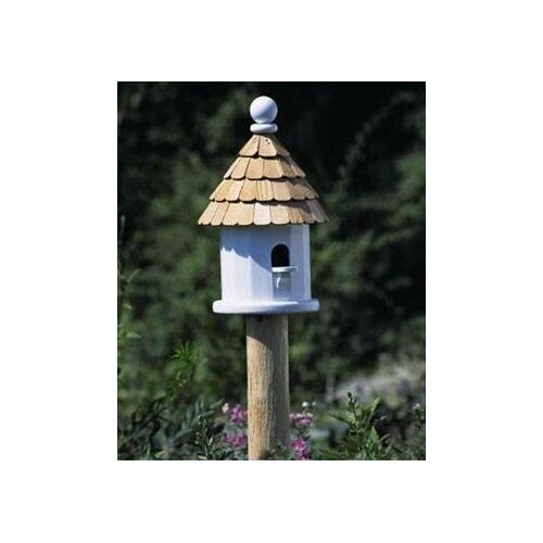 Good Directions Lazy Hill Farm Cedar Bird House Post