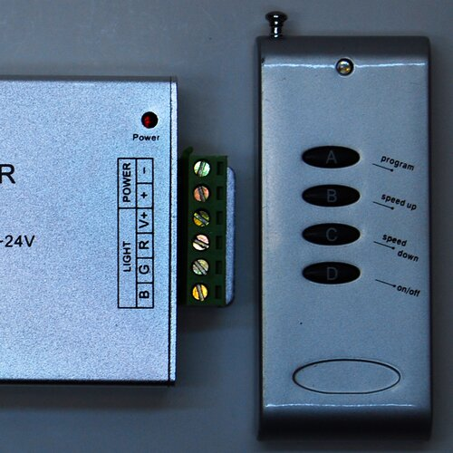 ITLED 4 Key RF Controller