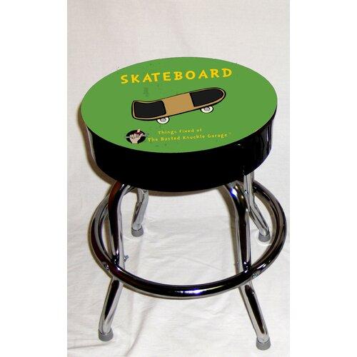 Busted Knuckle Garage Kid's Swivel Skateboard Stool