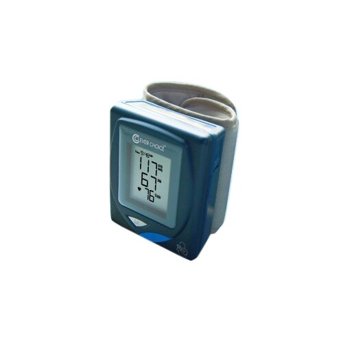 Clever Choice Fully Auto Digital Wrist BP Monitor with 350 Memory with PC-Link