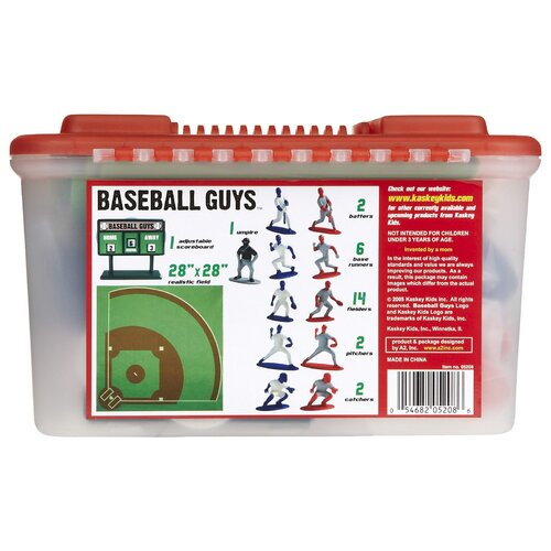 Kaskey Kids Baseball Board Game with Guys