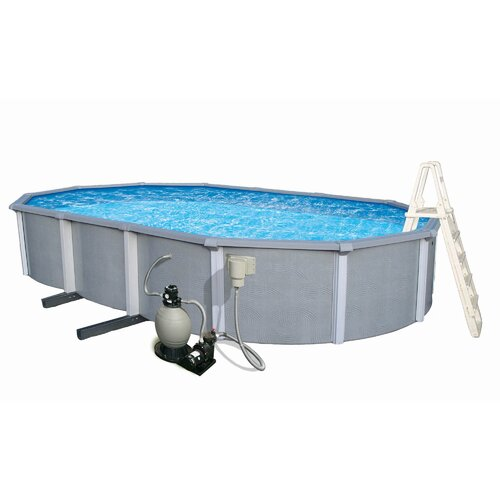 "Swim Time Zanzibar Oval 54"" Deep Pool"