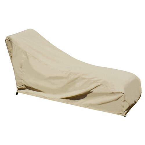 Swim Time Chaise Lounge Winter Cover in Beige