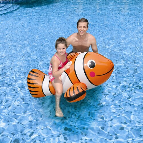 Poly Group Clown Fish Ride-On Pool Toy