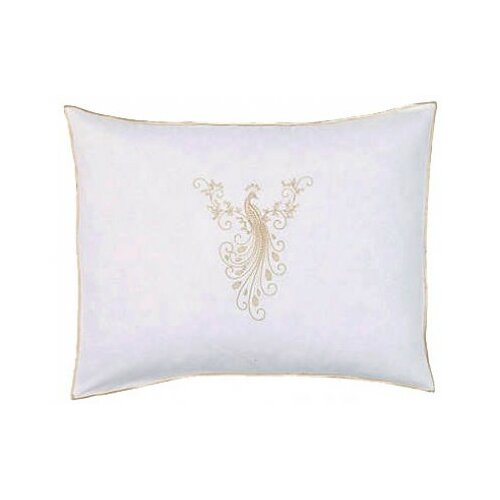 Peacock Cotton Boudoir Pillow Cover