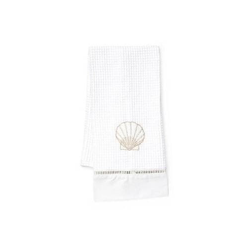 Jacaranda Living Scallop Hand Towel