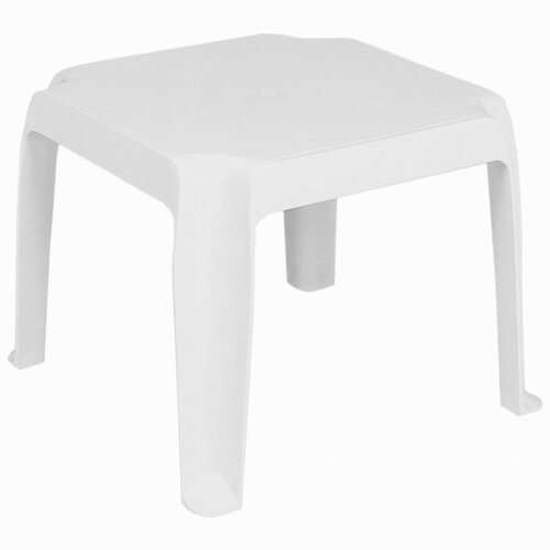 Compamia Sunray Resin Square Side Table