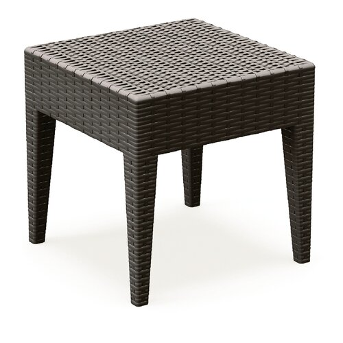 Compamia Miami Square Resin Side Table