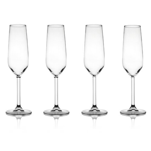 Bordeaux Champagne Flute (Set of 4)
