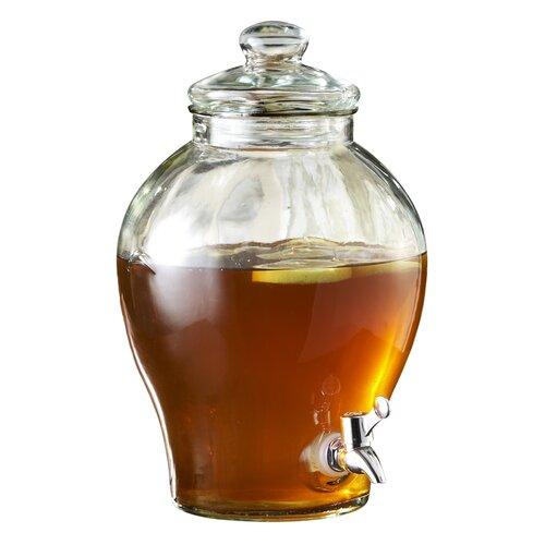 Sanford 1.6 Galn. Glass Beverage Dispenser