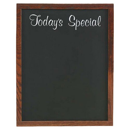 "Marsh Today's Special Wall Mounted 2' 3"" x 1' 10"" Chalkboard"