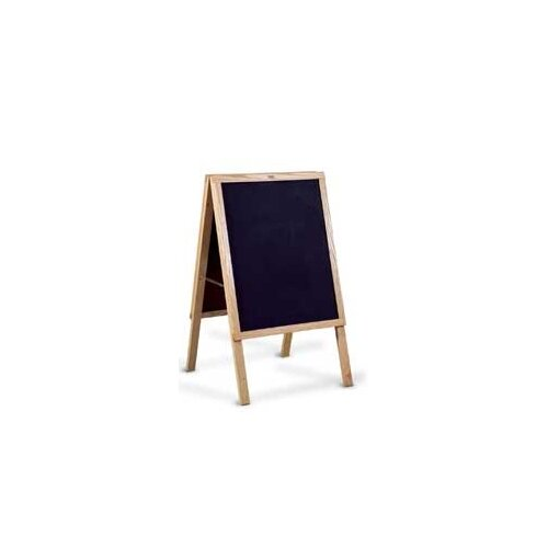 "Marsh Menu 3' x 1' 10"" Chalkboard"