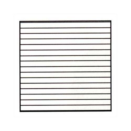 Marsh Graphics - Horizontal Lines 4' x 8' Whiteboard