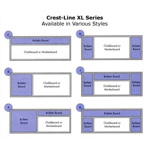 Marsh Crest-Line XL Series Type C Combination Board