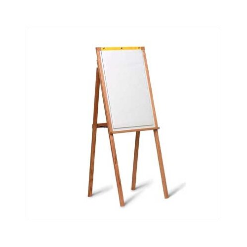 Marsh 5Solid Oak Presentation Easel with Flip Chart