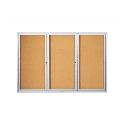 Marsh Wall-Mounted Open-Face Directory Boards - Oak