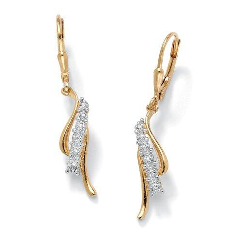 Palm Beach Jewelry Diamond Accent Pierced Earrings