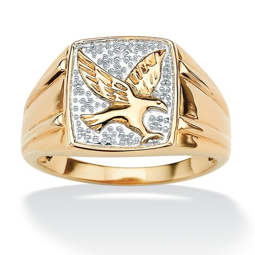 Men's Diamond Accent Eagle Ring