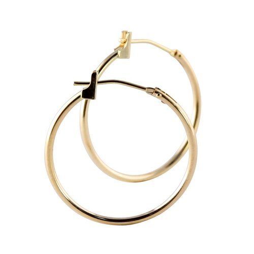 Palm Beach Jewelry 3 Pairs of Hoop Pierced Earring