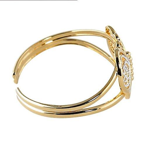 Palm Beach Jewelry Filigree Butterfly Cuff Bracelet